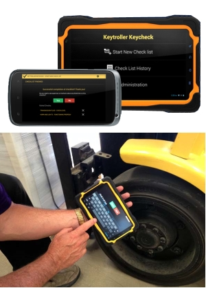 Keytroller Keycheck tablet and portable Keycheck, visit the website for more information.