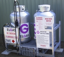 Bulk Forklift Gas for Rapid On-Site Refueling. Click for more information.