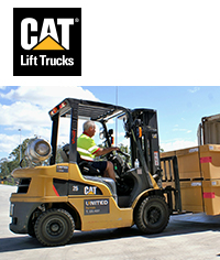 CAT forklifts - <i>Click to find out more</i>