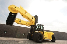 Tyre handler attachments make handling large tyres a breeze