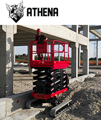 Athena bi-levelling scissor lift - <i>Click to find out more</i>