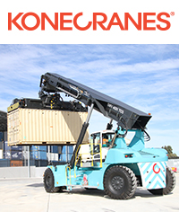 Konecranes reach stackers - <i>Click to find out more</i>