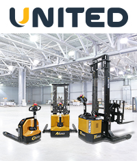 United C.A.T Series electric forklifts - <i>Click to find out more</i>