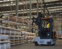 HUBTEX FluX Multidirectional Counterbalance Forklifts. Click for more information.