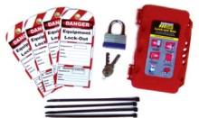 Forklift Lock Out Kit, click for more information.