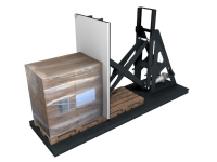 Stationary Pallet Changer. Click for more information.