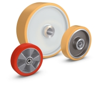 Forklift wheels and castors. For more information click to visit the website.