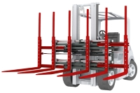 KAUP introduces Triple Pallet Handler T 429-1-2-3. Click for more product information.