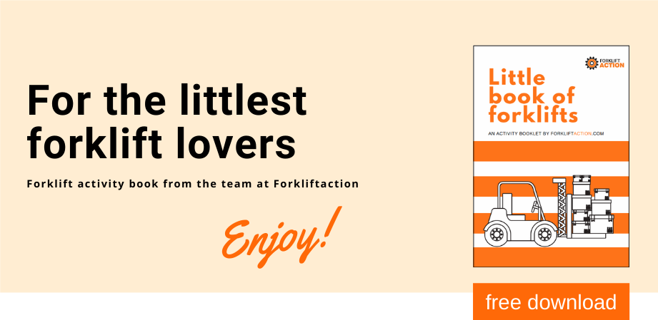Little book of Forklifts - a forkliftaction activity book