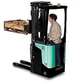 Mitsubishi SBR 12-20N stand on stacker