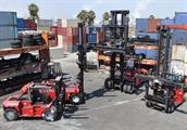 Container Handlers & Large Forklift Trucks - Intermodal Supply