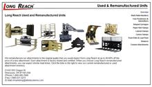 Long Reach remanufactured inventory website. Click to enlarge