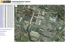 La Cisa's machine tracking System at work