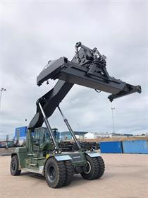 Part of Konecranes' record reachstacker order