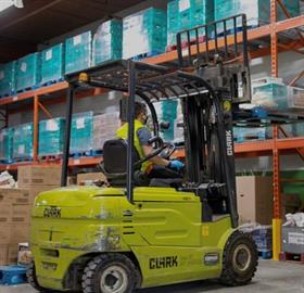 Edmonton's Food Bank is raising funds for a replacement forklift