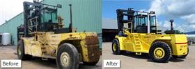 Hyster H970 Image courtesy of American Lift and Equipment