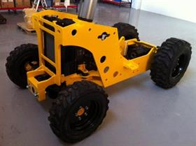 Bomaq 4wd rough-terrain chassis in production