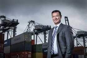 Tony Gibson, Ports of Auckland chief executive officer.