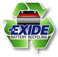 Exide is one of the largest recyclers of lead-acid batteries.