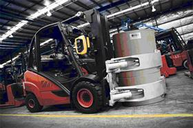 The BOLO mirror system allows forklift drivers to see around the load, significantly improving safety in materials handling.