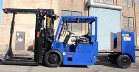 Hoist manufactures electric forklifts to 25T