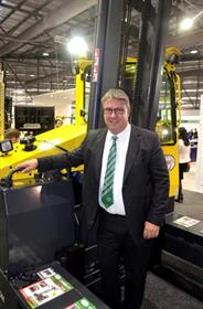 Combilift national sales manager Paul Horsnell