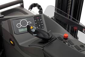 With the Ergologic joystick, all the hydraulic functions can be controlled effortlessly and safely