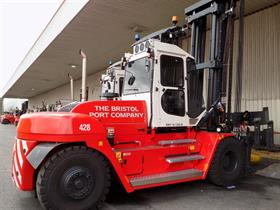 Cooper Specialised Handling has supplied 10 high-specification Konecranes forklifts to Bristol Port Company.