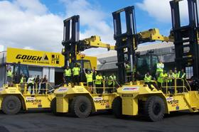GMH will supply new Hyster container handling forklifts to KiwiRail.