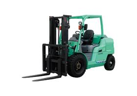 Mitsubishi has launched the GRENDiA EX hybrid forklift.