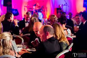 The glamorous Talent in Logistics Awards event