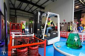 Forklift Operator of the Year at Talent in Logistics