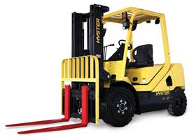 New Hyster® H2.0 - 3.5UT ICE forklift for use outdoors and indoors