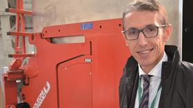 Mr. Vittorio Lucchini, Bolzoni Group White Goods Handling Specialist.