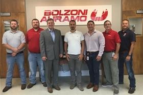 Roberto Brusamonti, met our Sulligent Colleagues in Alabama, USA.