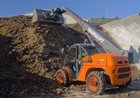 The  T276H telehandler is a part of AUSA's Taurulift range.
