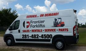 Frontier Forklifts and Service in Houston