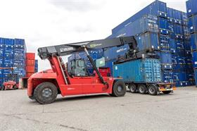 Maktas has ordered six Kalmar Eco Reachstackers