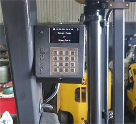 Start-Manager controls access to equipment