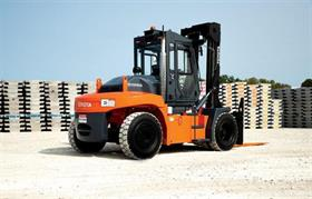 Toyota's new High-Capacity Core IC Pneumatic forklift