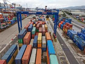 Belfast Container Terminal's latest addition