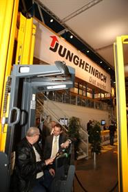 Jungheinrich showcased its used truck range.