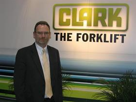 Dennis Lawrence, Clark Material Handling CEO