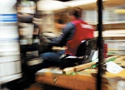 Forklift accidents are a common cause of pallet racking damage.