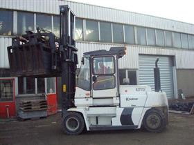 Kalmar forklift working at Martens Beton's production facility in Oosterhout, the Netherlands.