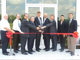 Associated-Allied's new warehouse opening ceremony.