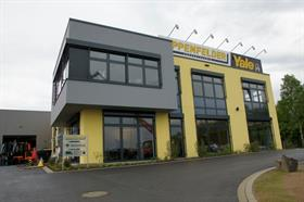 The forklift dealer invested over EUR4 million in the new facility.