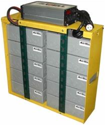 10 kWh fork lift lithium-ion battery
