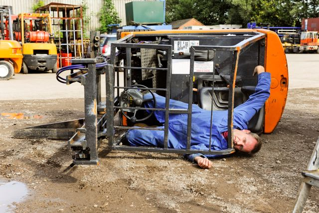 Fatal Forklift Accidents Fall By 69 Print