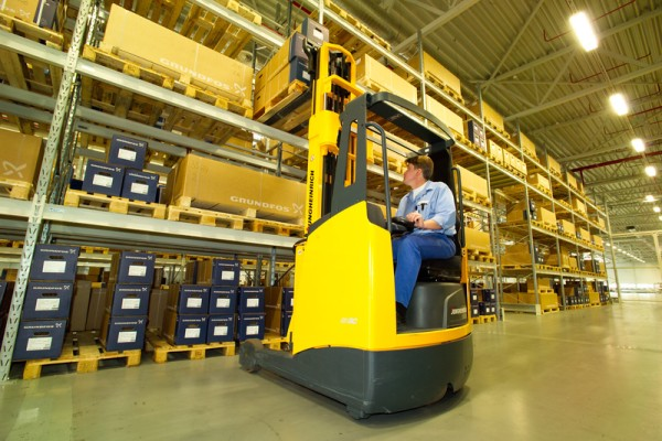 Forklift Operator Not Stressful Job News Article